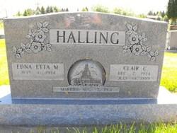 Clair Christian Halling