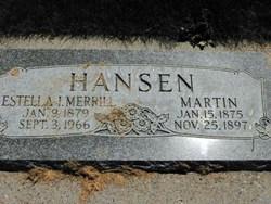 Estella <I>Ipsen</I> Hansen