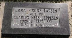 Emma Rosine <I>Larsen</I> Jeppesen