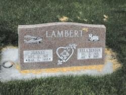 Johnny Lambert