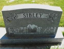 Arletta Thurman Sibley