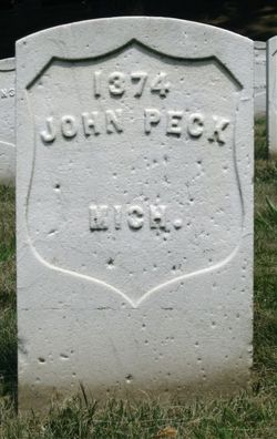 Pvt John Peck