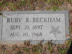 Ruby <I>Rutledge</I> Beckham