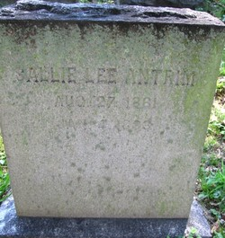 Sallie <I>Lee</I> Antrim