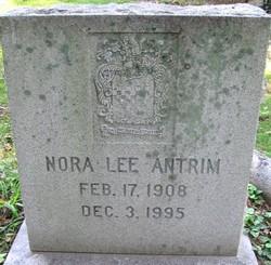Nora <I>Lee</I> Antrim