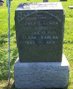 "Clarisa ""Clara"" <I>Phillips</I> Clark Harlan"