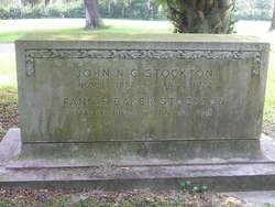 Fannie James <I>Baker</I> Stockton