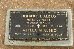 Herbert L Albro