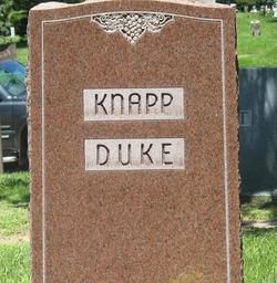 Frank Eloise <I>Duke</I> Knapp