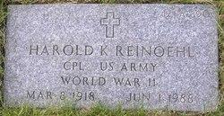 Harold K Reinoehl
