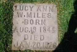 Lucy Ann I Watts Miles