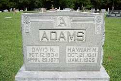 Hannah M. <I>Sparks</I> Adams