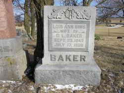 Lois Ann <I>Sims</I> Baker