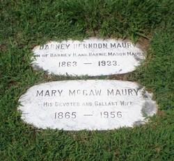 Mary <I>McCaw</I> Maury