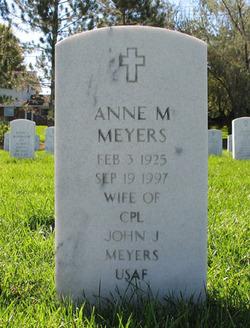 Anne M Meyers