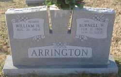 Burnell <I>Ward</I> Arrington