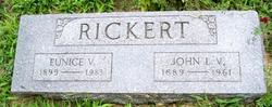 John Ludwig Valentine Rickert
