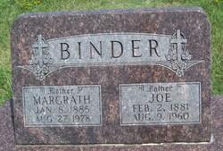 """Joseph """"Joe"""" Binder"""