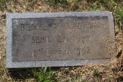 Belle <I>Westmoreland</I> Walton