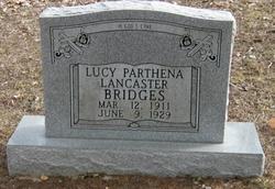 Lucy Parthena <I>Lancaster</I> Bridges