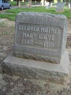 Mary Ellen <I>Manville</I> Dye