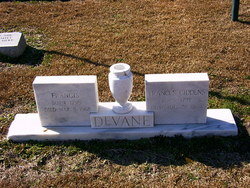Frances <I>Giddens</I> DeVane