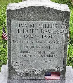 Iva Margaret <I>Miller</I> Thorpe Davies