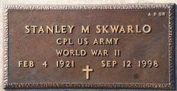 Stanley M Skwarlo