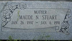 Maude <I>Nickerson</I> Stuart