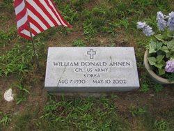 William Donald Ahnen