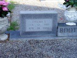 Thelma <I>Sauls</I> Boothe