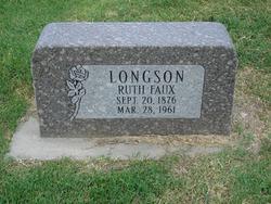 Ruth <I>Faux</I> Longson