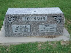 """Anne Faux """"Annie"""" <I>Longson</I> Johnson"""