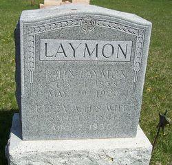 Eliza Anne <I>Olmstead</I> Laymon