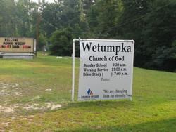 Wetumpka Church of God Cemetery
