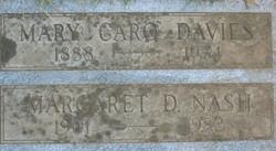 Mary (Carolyn) Davies