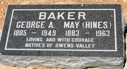 May <I>Hines</I> Baker