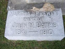 Martha Talbot <I>Prewitt</I> Bates