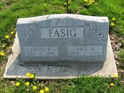 Freda Fern <I>Pearce</I> Fasig
