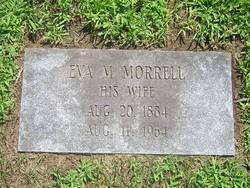 Eva Mary <I>Morrell</I> Domina