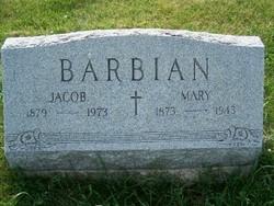 Mary <I>Wiese</I> Barbian