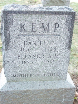 Eleanor Anna May <I>Zimmerman</I> Kemp