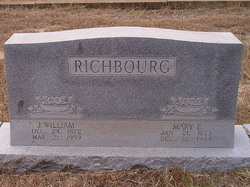 Mary E. <I>Adams</I> Richbourg