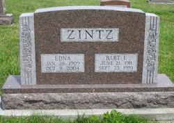 Edna <I>Davis</I> Zintz
