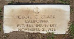 Cecil C Clark