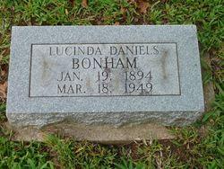 Lucinda <I>Daniels</I> Bonham