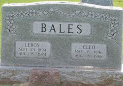 Cleo Bales