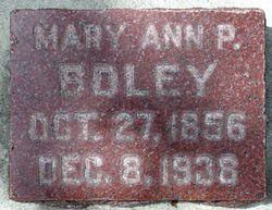 Mary Ann <I>Parker</I> Boley