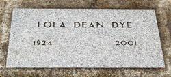 Lola Dean <I>Stigleman</I> Dye
