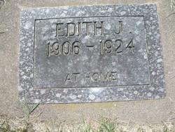 Edith J Bergfalk